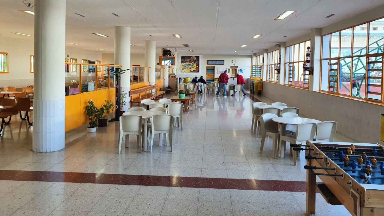 Las 10 mejores fervenzas de Pontevedra y O Salnés.Módulo Nelson Mandela, en la cárcel de Teixeiro