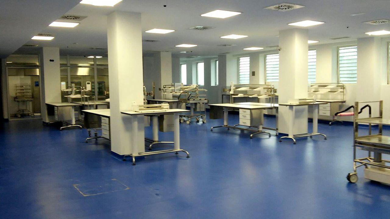 Imagen de archivo de una central de esterilización