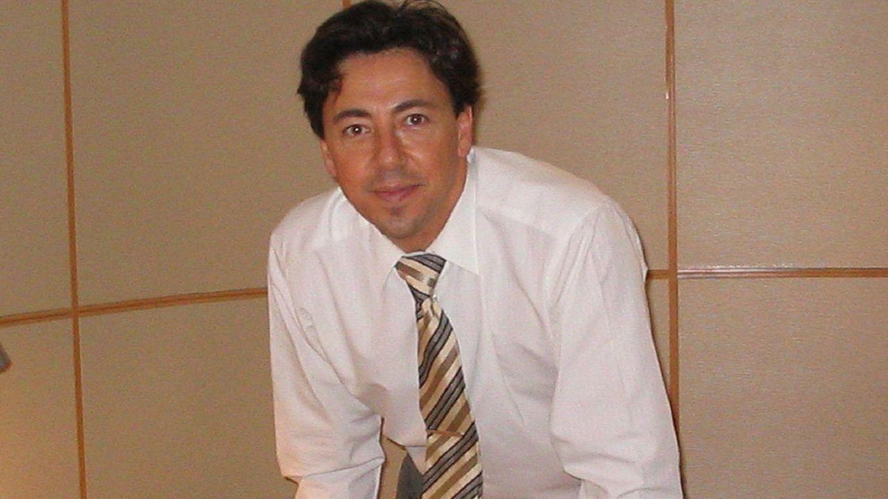 Victor Pinies, padre del niño que no va a clase para no usar mascarilla