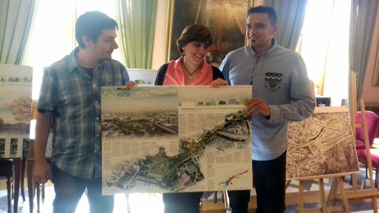 escuelas de infantil, centros de 0 a 3 años,.Proyecto ganador para la reforma del bulevar de Santuyano