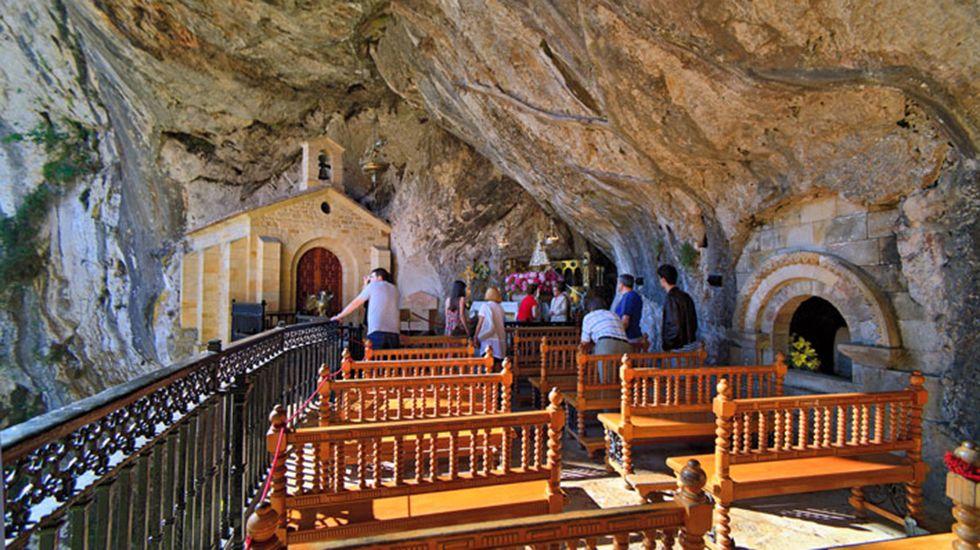Santuario de Covadonga.