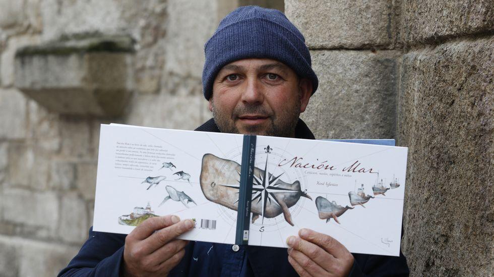 Portada do álbum ilustrado «Nación Mar»