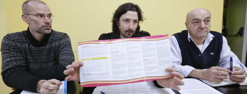 Philippe Le Gall, Alfonso Muñoz y Suso Díez presentaron la plataforma musical.