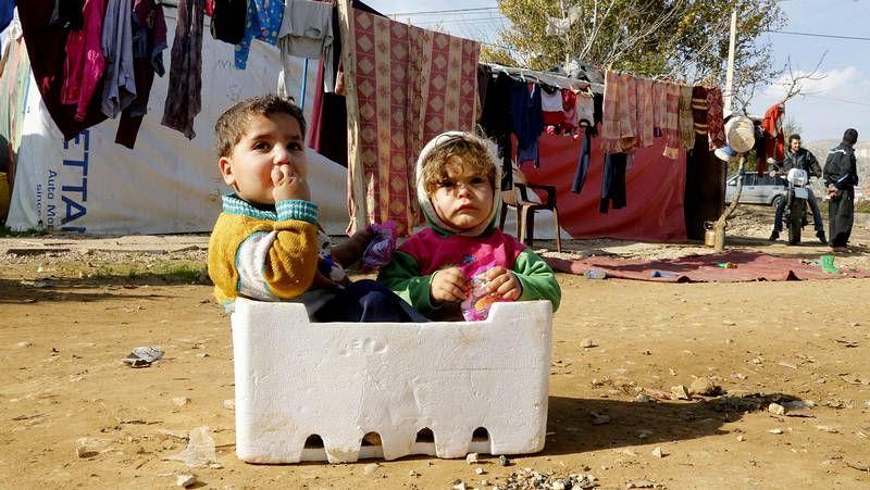La devastadora situación de los niños refugiados