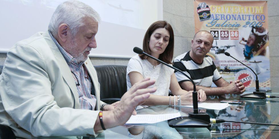 Presentación del Critérium Aeronáutico en la Diputación Provincial.