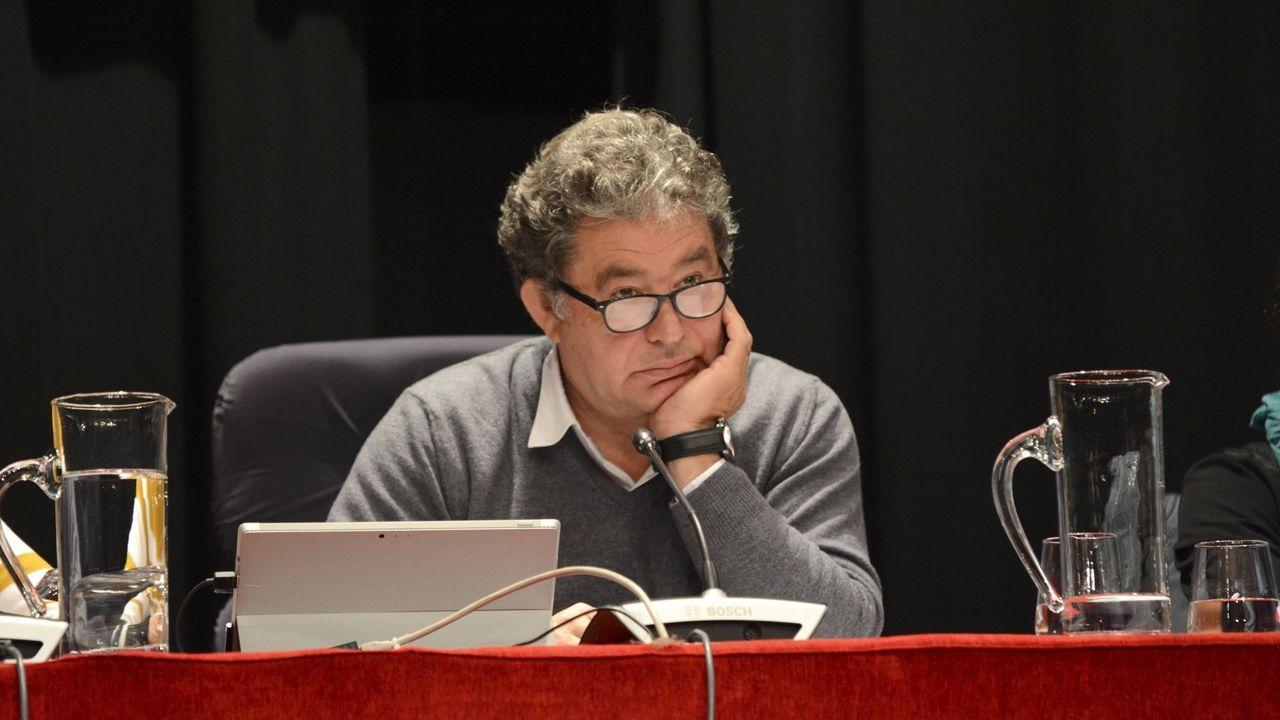 El alcalde de Pontevedra, Miguel Anxo Fernández Lores