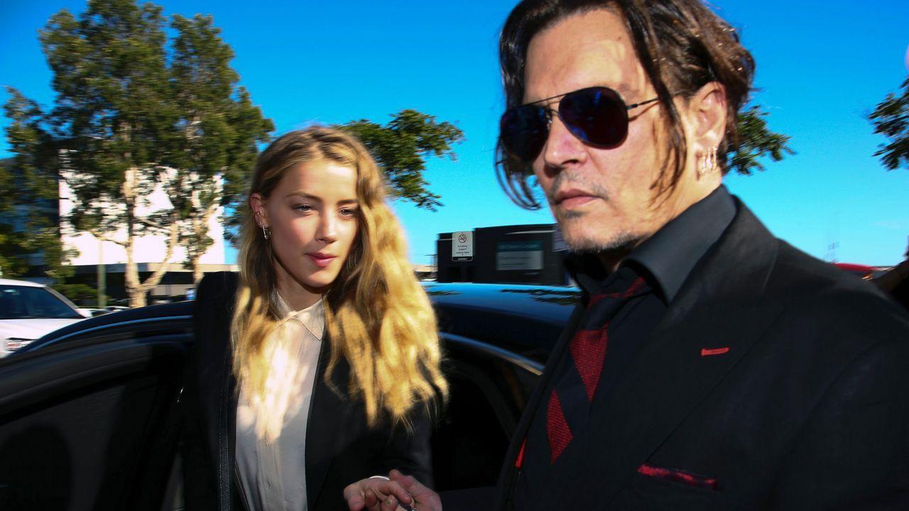 Johnny Depp y Amber Heard en una imagen de archivo