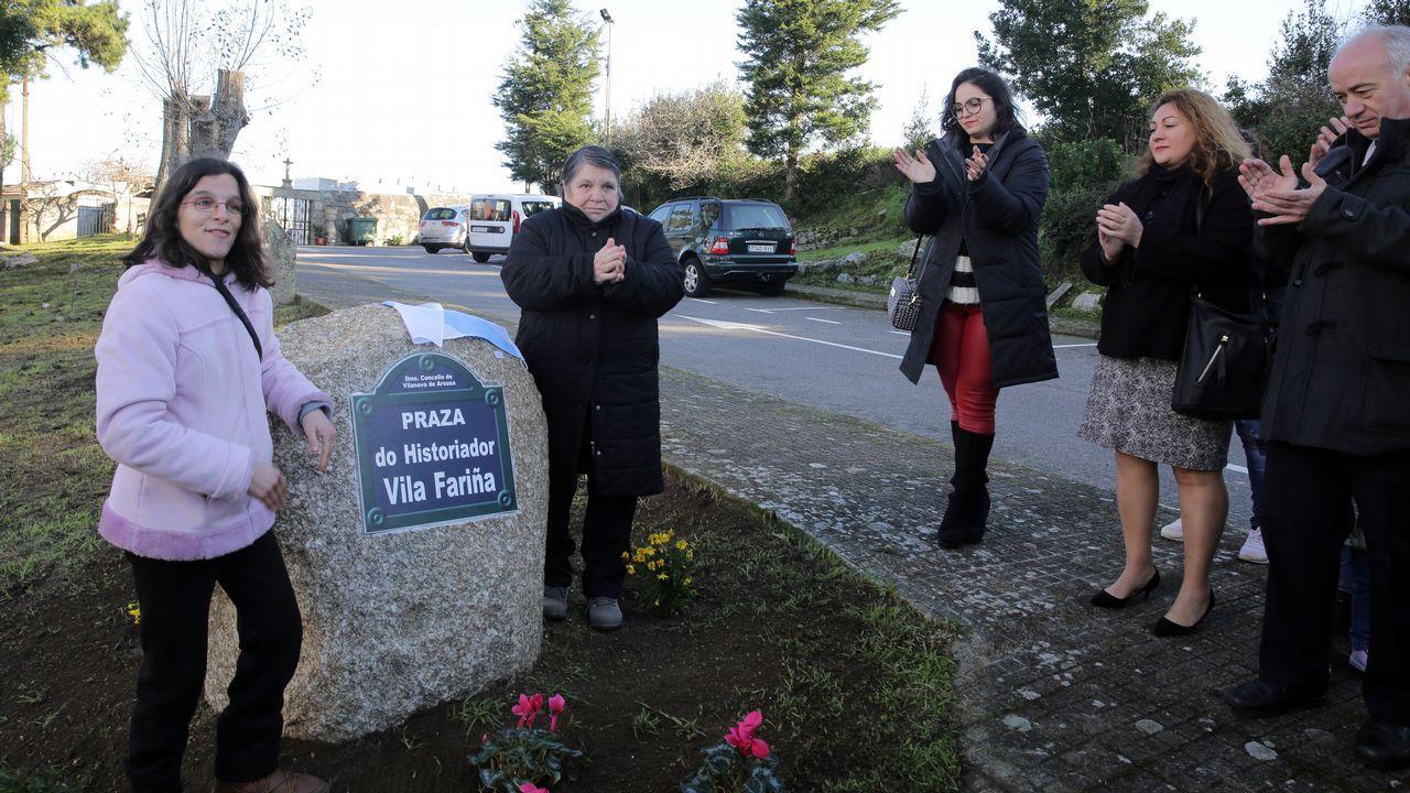 La borrasca Helena causa desperfectos en el parque del balneario en A Compostela