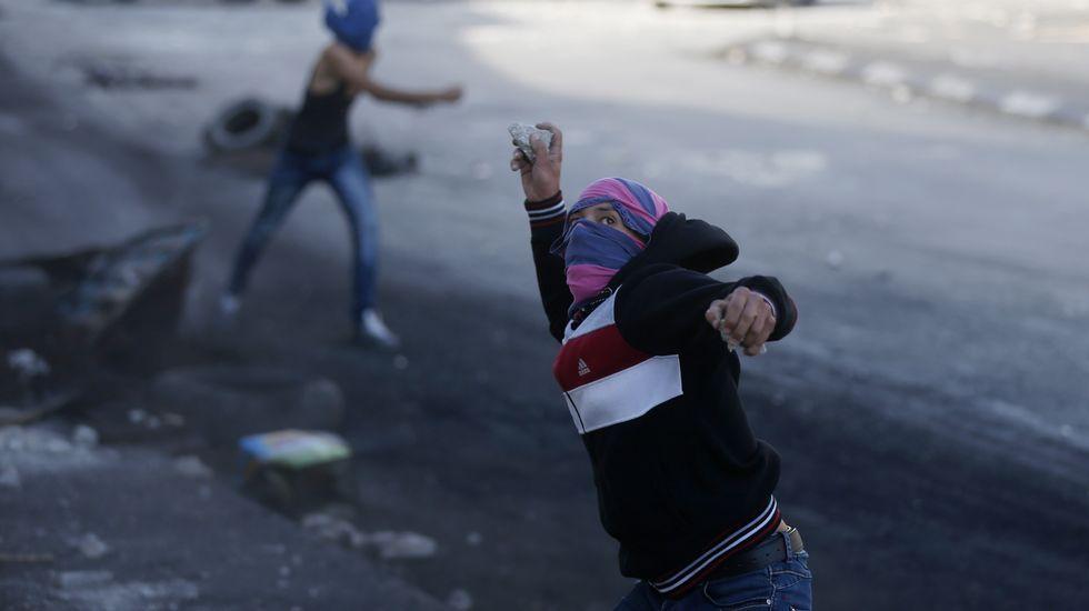 Última ola de violencia en Palestina