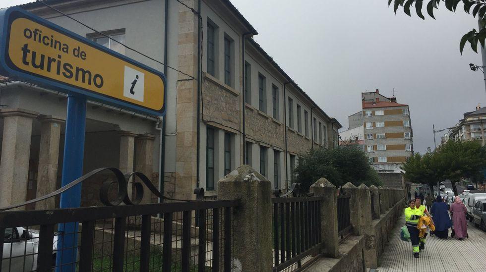 Abren, con cita previa, las oficinas del paro.Escuela taller del Ayuntamiento de Gijón, en la 'nueva' normalidad