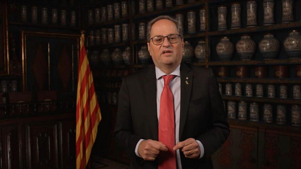 ¿Quién es quién en las elecciones catalanas?.El prófugo de la Justicia Carles Puigdemont anunció este miércoles en un vídeo su intención de encabezar la lista de Junts para las elecciones del 14F