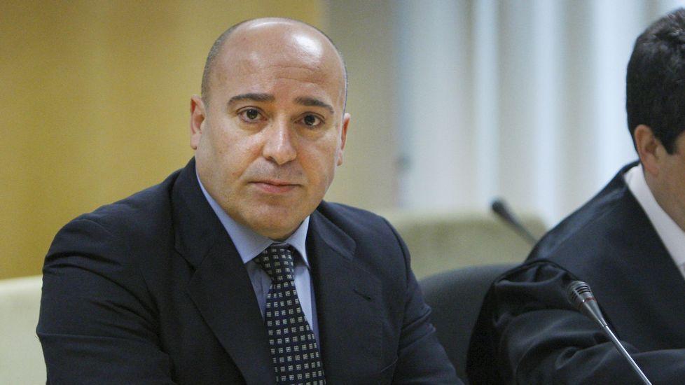 El ex espía del CNI Roberto Flórez, acusado de vender información a Rusia.