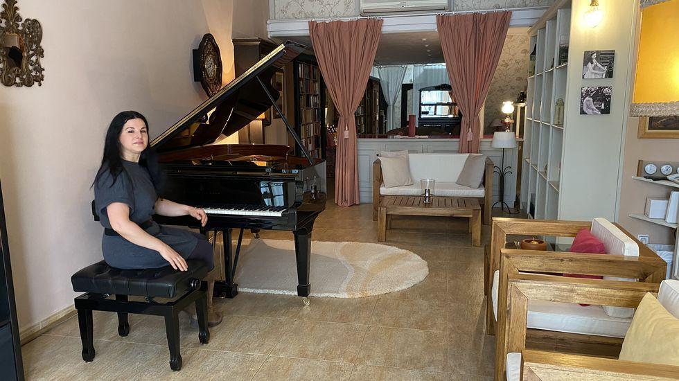 La pianista Sara Marianovich abre el espacio cultural Sueños en O Barco