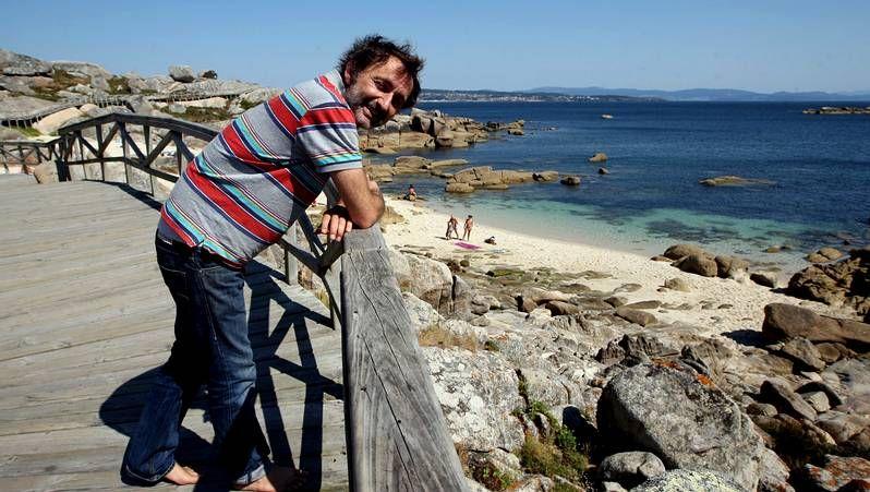 Protagonistas Sombras de Grey.David Byrne, ayer, a su llegada a San Sebastián.