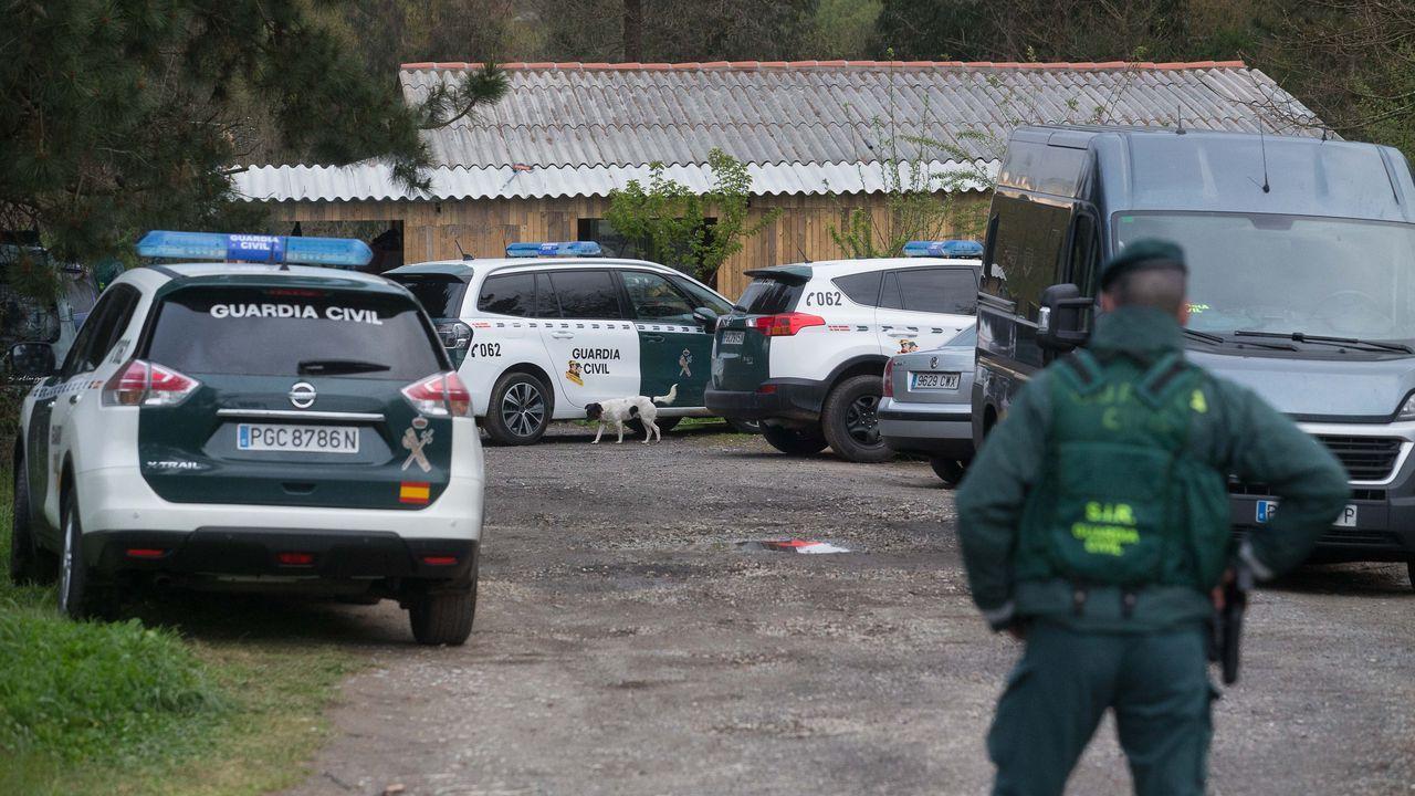 Un lucense se graba circulando a 190 km/h en una carretera con limitación de 90.El gran dispositivo montado por la Guardia Civil en el poblado chabolista de Rábade