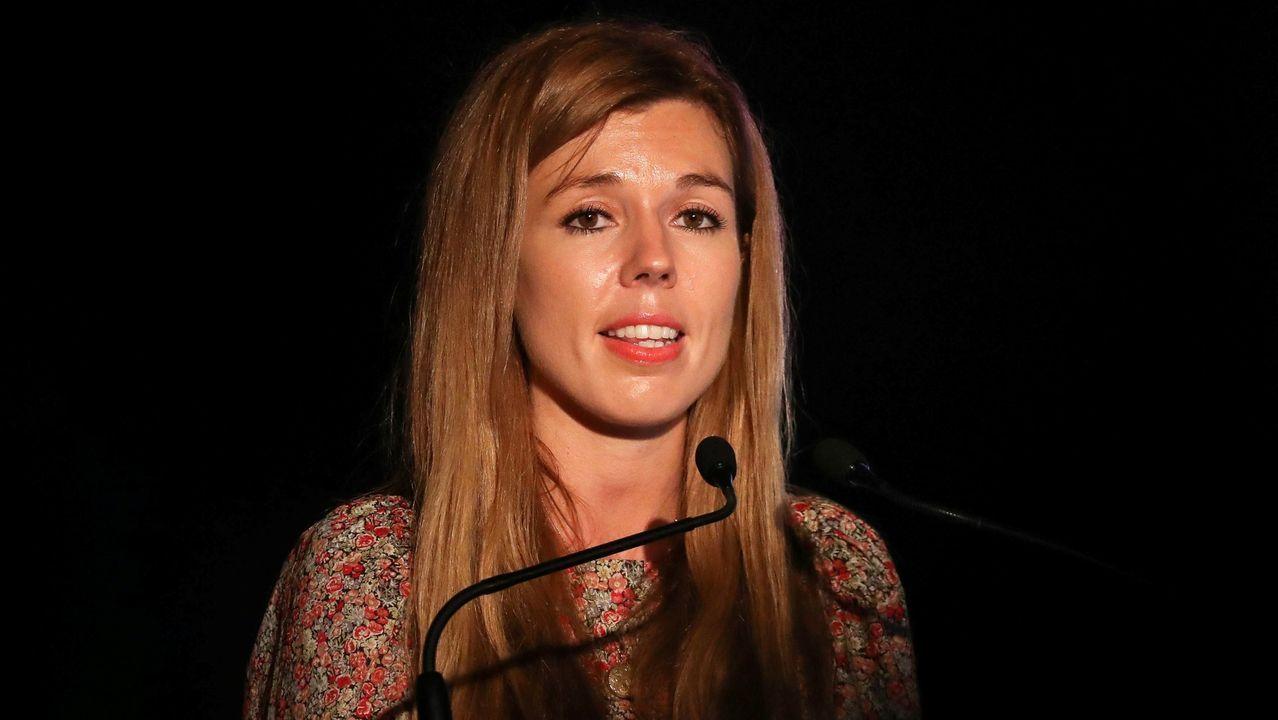 Carrie Symonds es la novia del recién elegido primer ministro británico, Boris Johnson y una activista concienciada con las políticas verdes