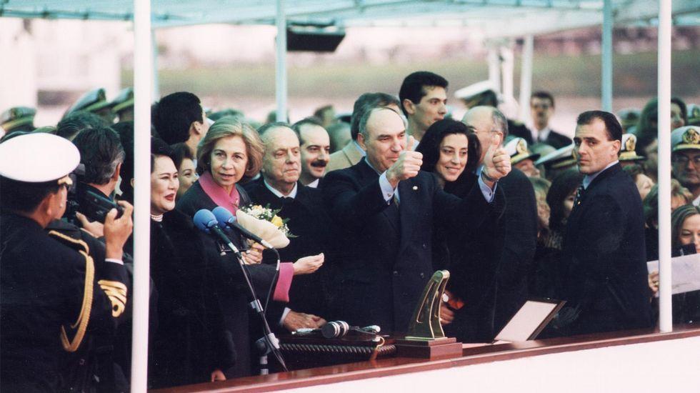 David Muñoz, una de las estrellas de Madrid Fusión.Juanqui, en su cocina y con su familia: Gael, «mi fan número uno», su mujer Marga y sus gemelos Nuno y Zoe.