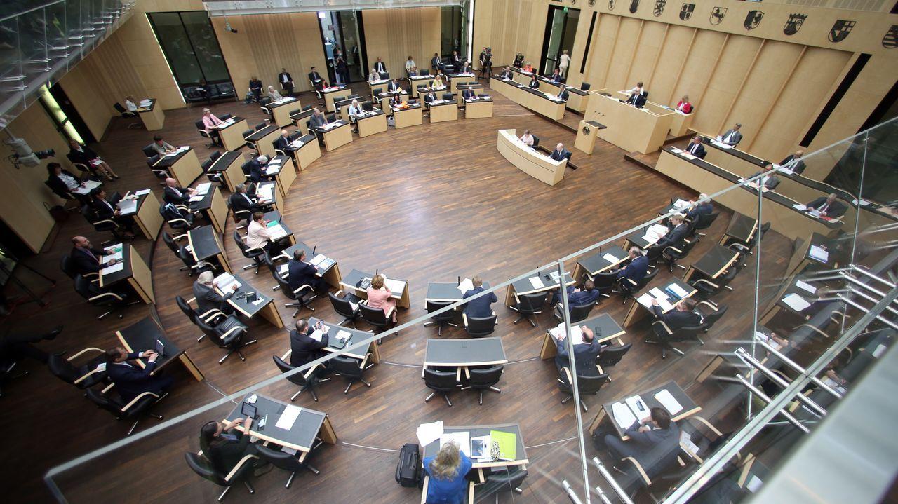 Reunión de representantes de los estados federados de Alemania, el pasado fin de semana