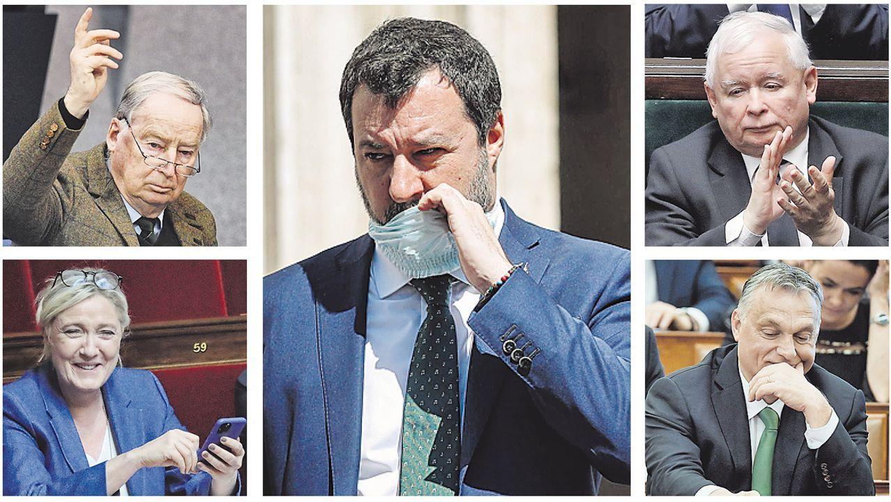 Irene Montero anuncia la derogación de la ley del aborto del 2015.Sebastián Piñera saluda con el codo a Macarena Santelices, el 6 de mayo, tras su toma de posesión como ministra