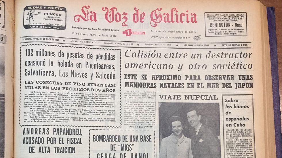 Aparece un hombre ahorcado en Salceda de Caselas junto a su mujer herida grave