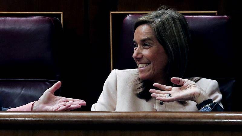 Ana Mato defiende «su derecho» a asumir las mismas responsabilidades que el resto.Rafael Hernando, en una imagen de archivo