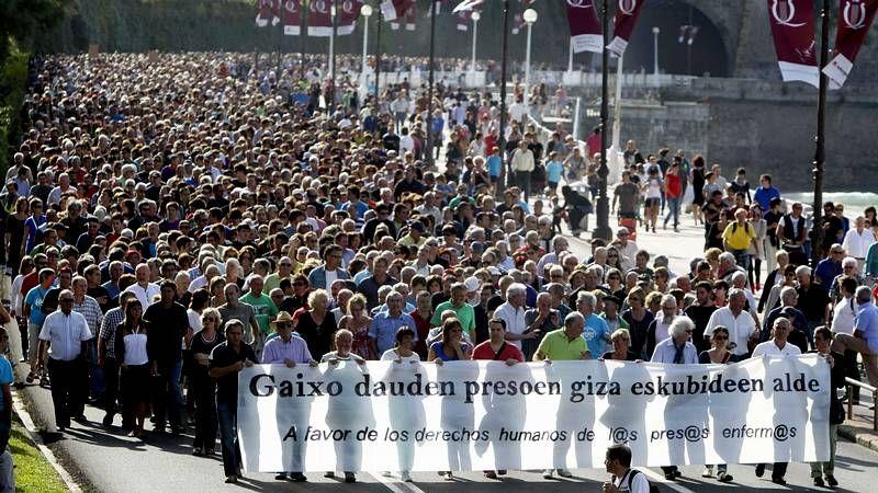 Bolinaga agradece «al pueblo vasco» su puesta en libertad