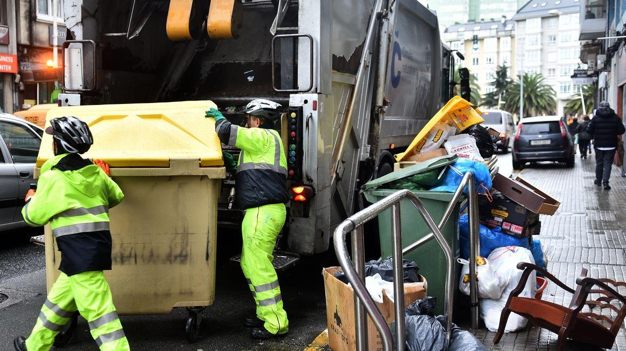 Los diez clasificados de la primera semifinal.camión basuras Coruña