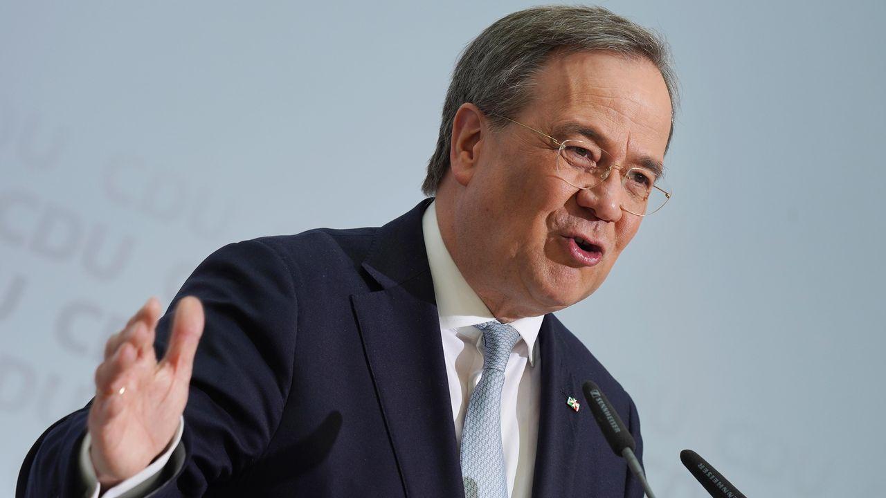 Armin Laschet, presidente de la CDU