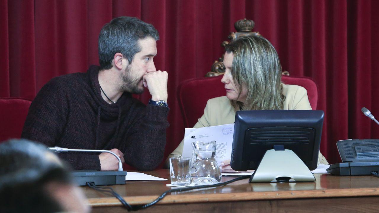 Lara Méndez y Rubén Arroxo
