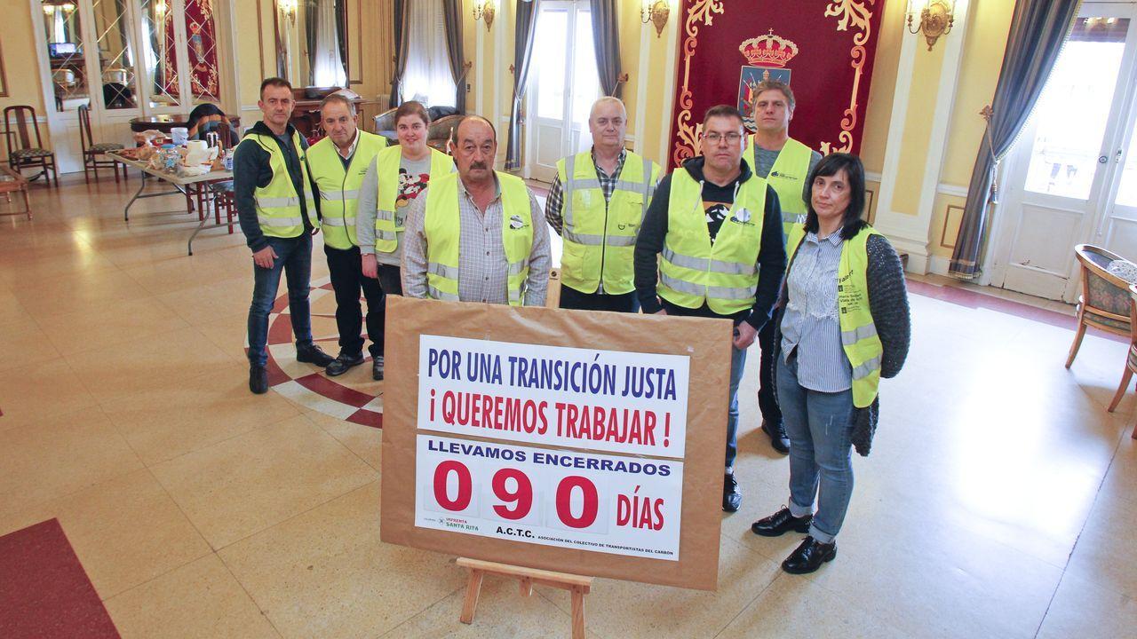 Tintín llega a las paredes de Ferrol Vello