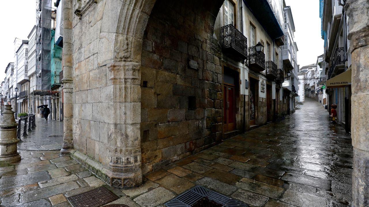 Primer día con nivel extremo en Viveiro por covid.En el municipio vicedense se hará un cribado masivo entre la población el domingo 24
