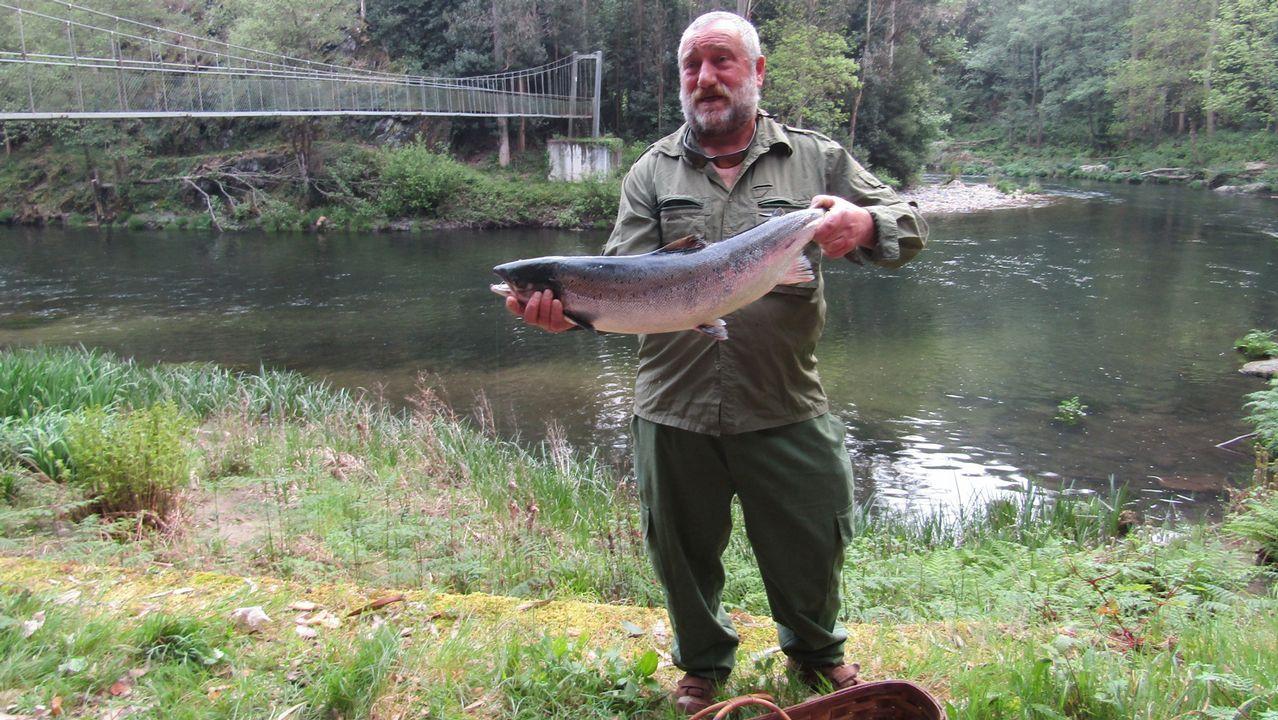 Jornadas de pesca con señuelos en Foz