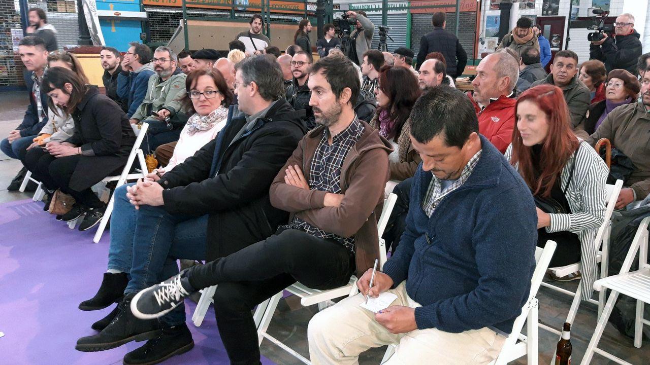 Inicio de campaña de Podemos Asturies, en Villaviciosa