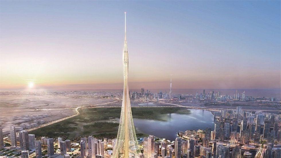 Así es la Torre de Dubai Creek Harbour.El encuentro de Ciudadanos en Oviedo.