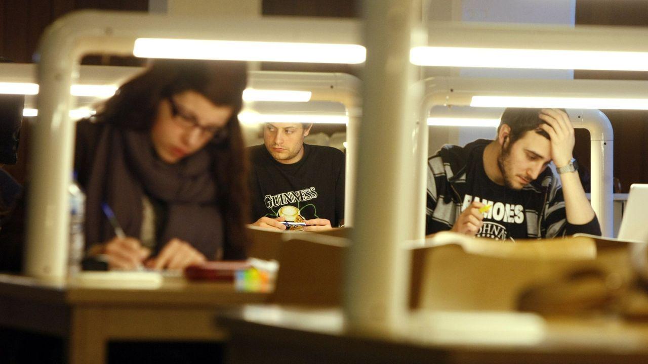 Estudiantes de la USC