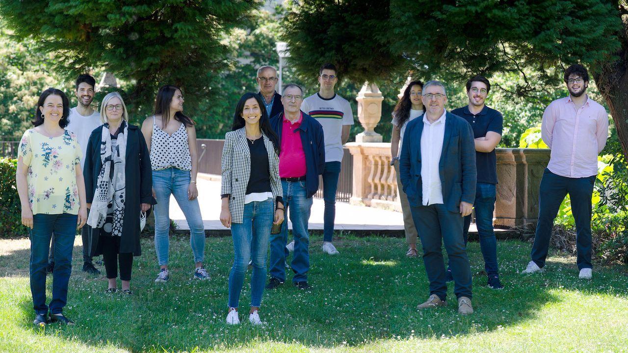 Investigadores del Grupo Interdisciplinar en Tecnoloxía Farmacéutica, Inmunoloxía Parasitaria e Parasitosis Hídricas da USC