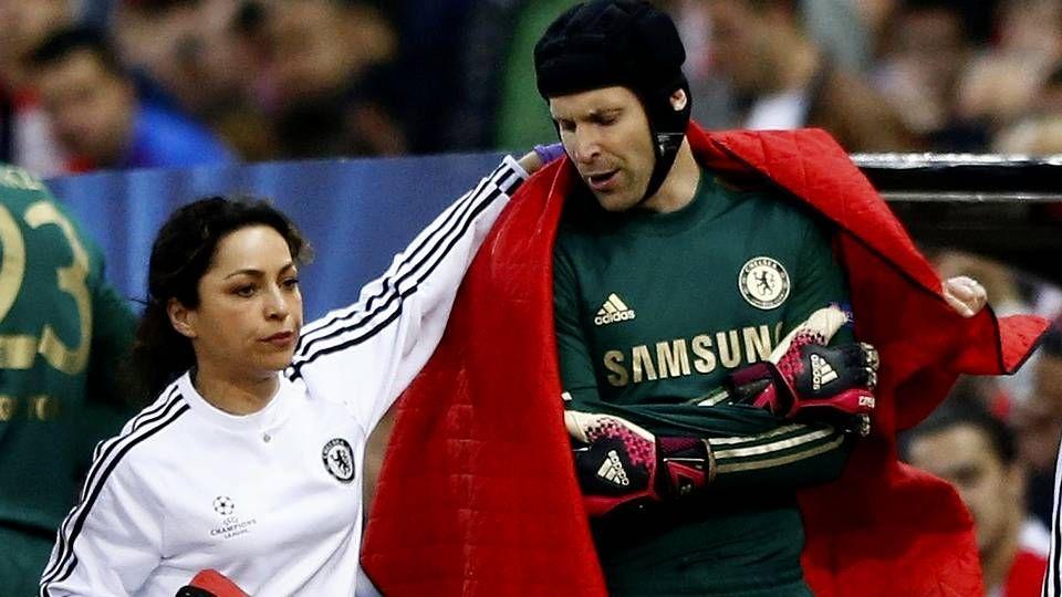Eva Carneiro, durante el Atlético-Chelsea