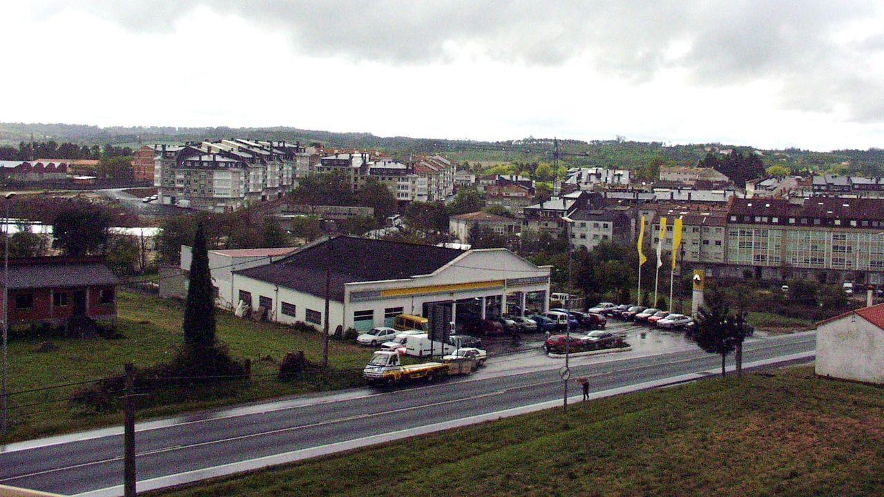 Imagen de archivo de Sigüeiro en el 2003