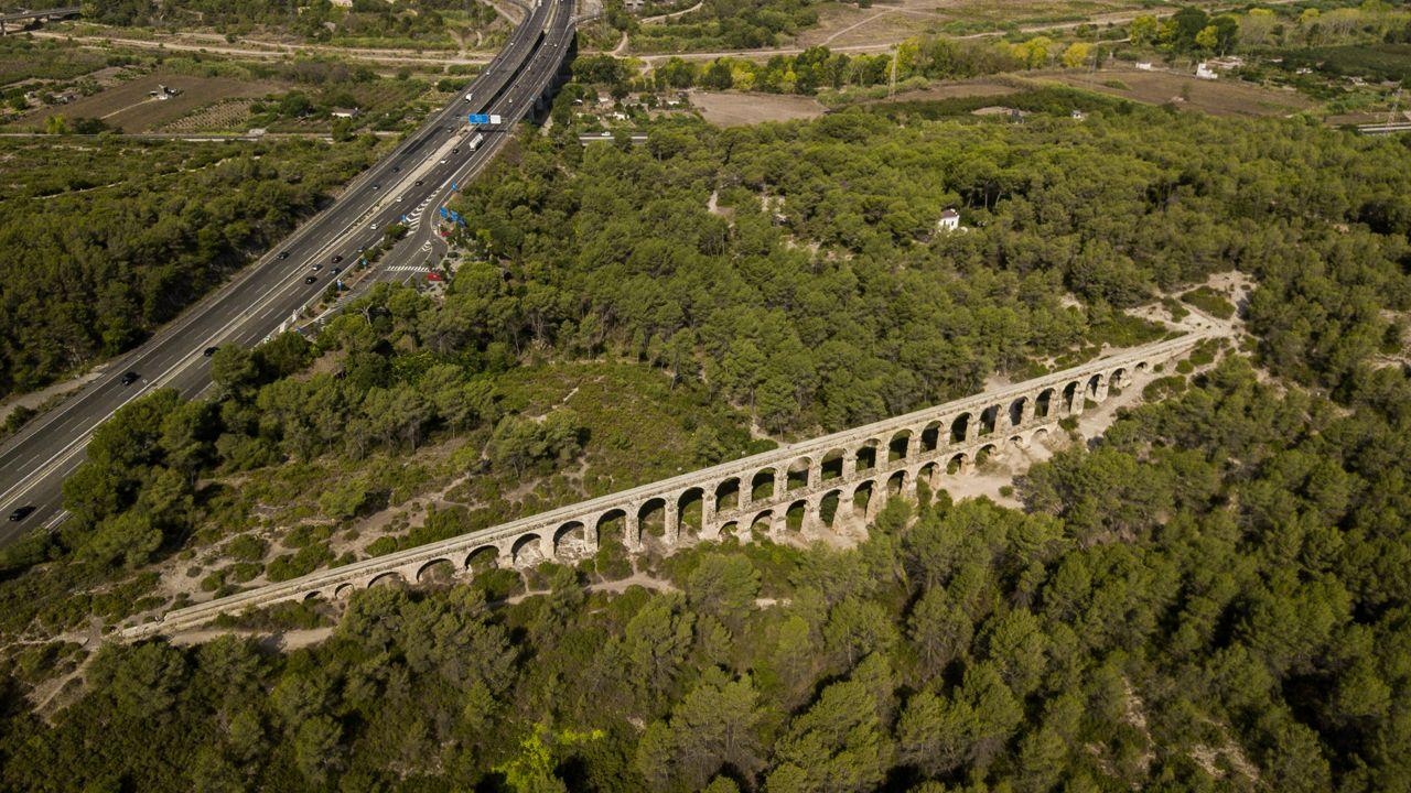 Carretera AP-7, en Tarragona