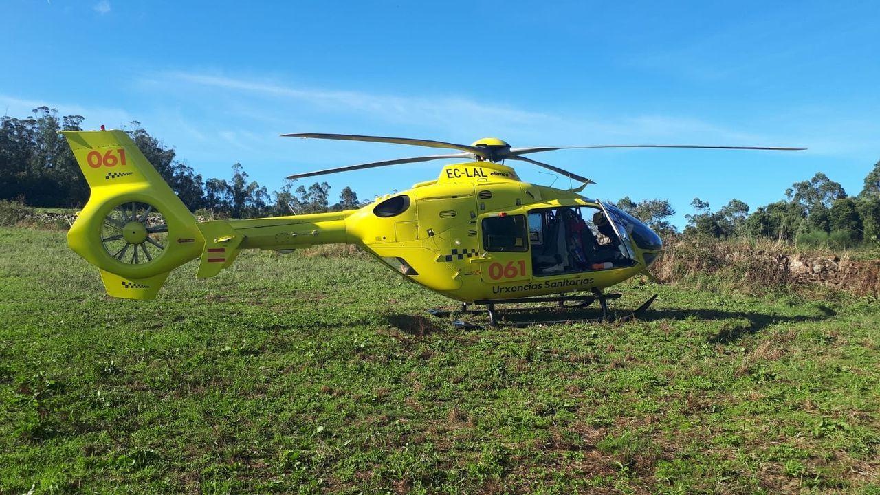 Lucus In Vino Veritas se consolida como polo de atracción turística.El helicóptero del 061 con base en Santiago se desplazó a Sabugueira para atender al fallecido