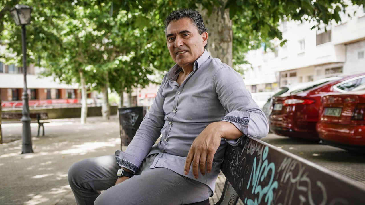 Jordi Igareta, vecino de Ourense cuya madre reside en El Bierzo