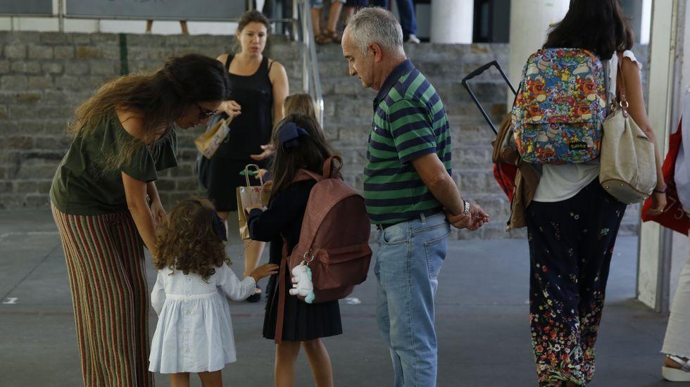 Así fue la jornada delOpen Science de Cambre.El colegio de infantil y primaria empieza en Galicia el  miércoles de la semana que viene, el día 11