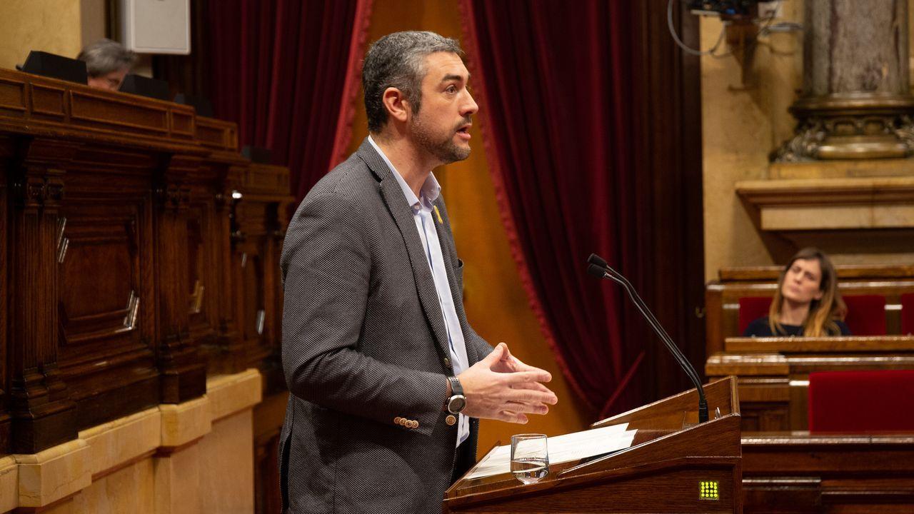 Bernat Solé, conseller de Exteriores, es portavoz adjunto de ERC en el Parlamento