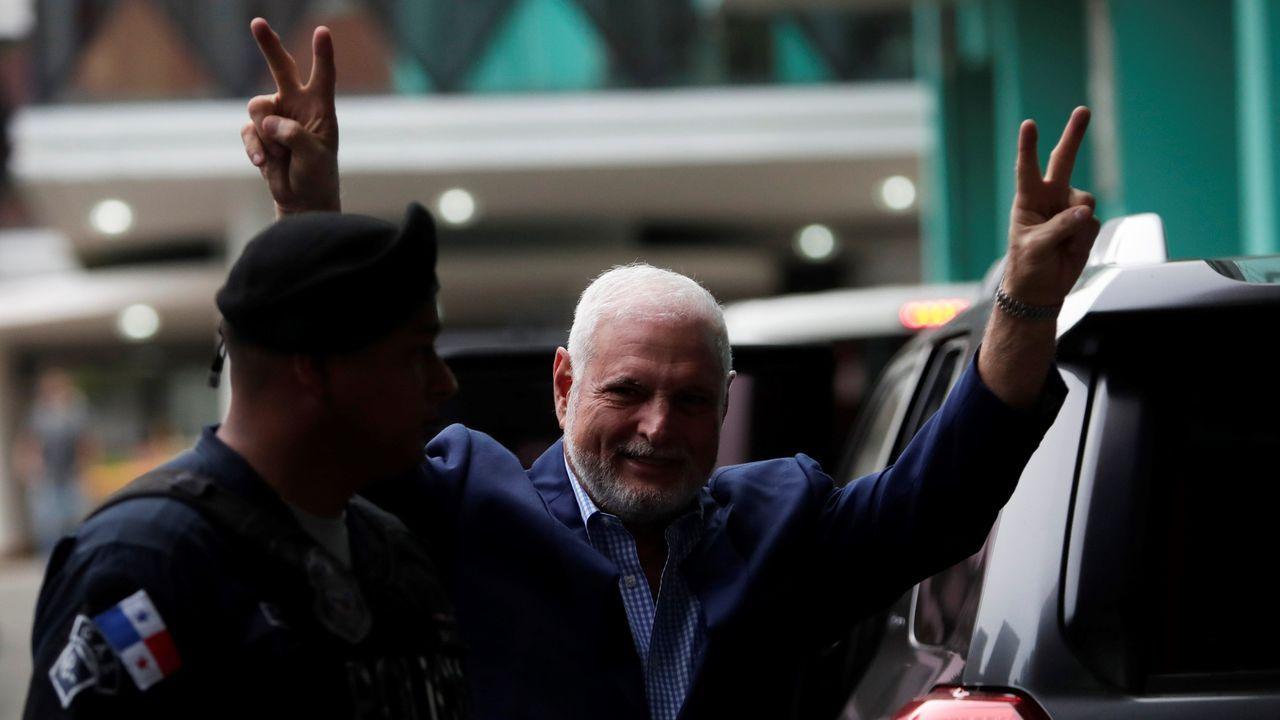 El expresidente panameño, Ricardo Martinelli