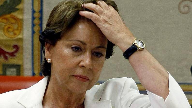 Griñán admite que se marcha para proteger a la Junta del caso de los ERE.Magdalena Álvarez, en el 2008