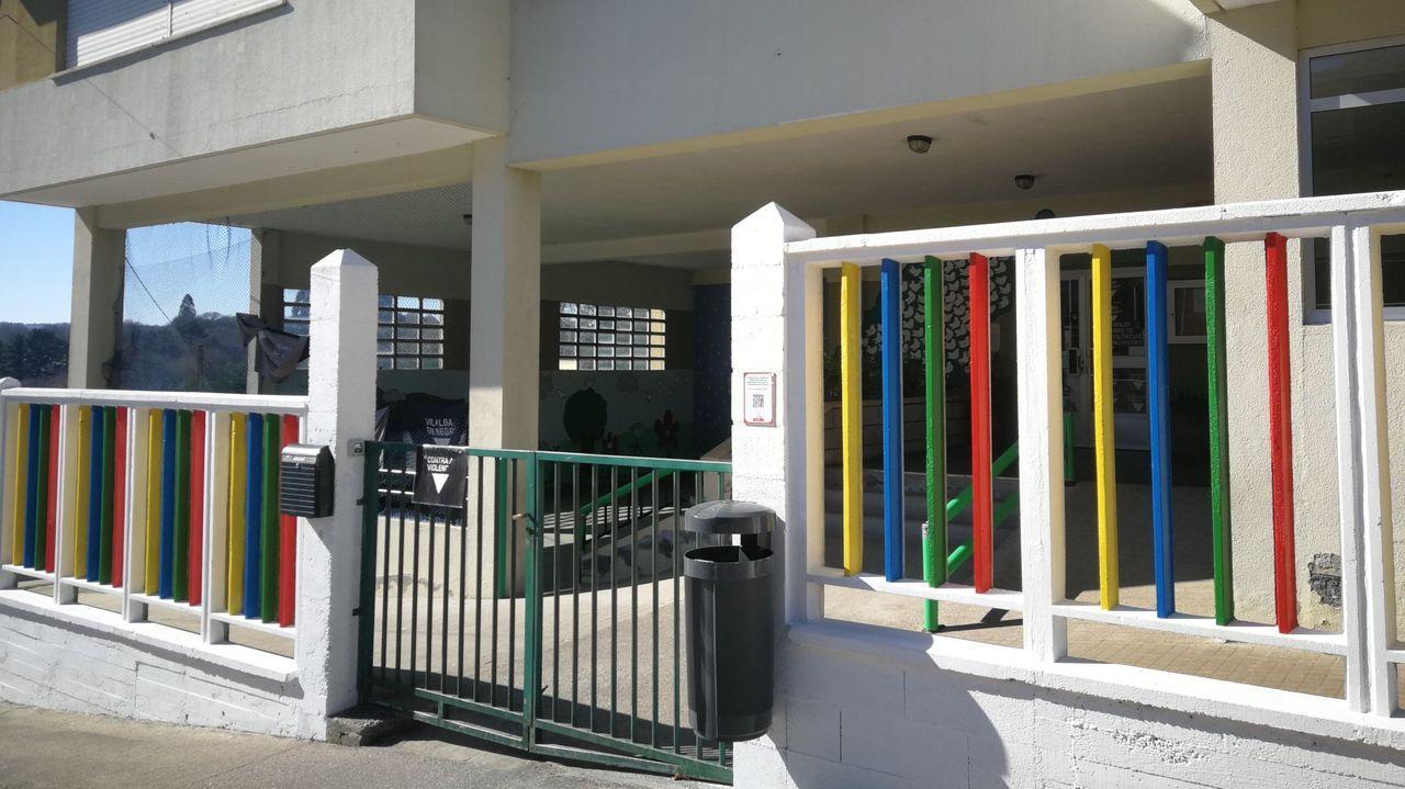 Exterior de la Escola de Educación Infantil de Vilalba