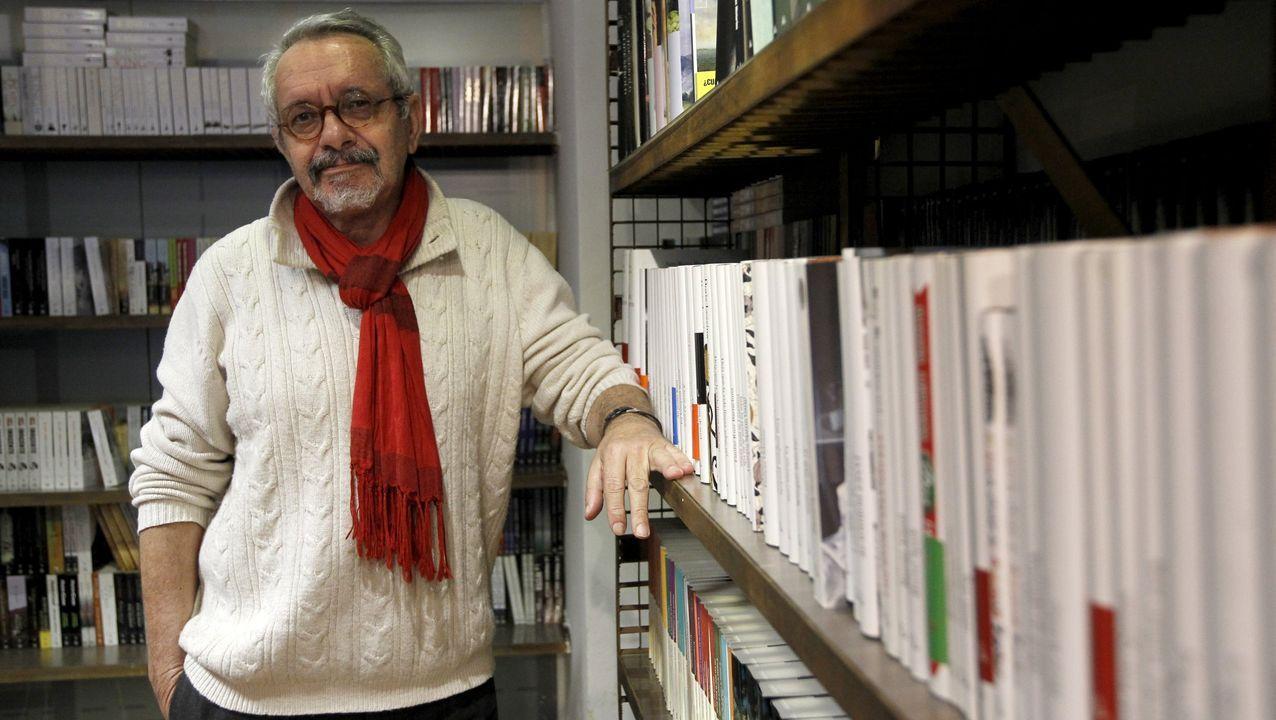 El editor y escritor lugués Constantino Bértolo (Navia de Suarna, 1946)