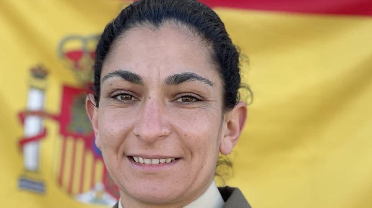 La sargento de Artillería Débora Grau, fallecida en unas maniobras militares