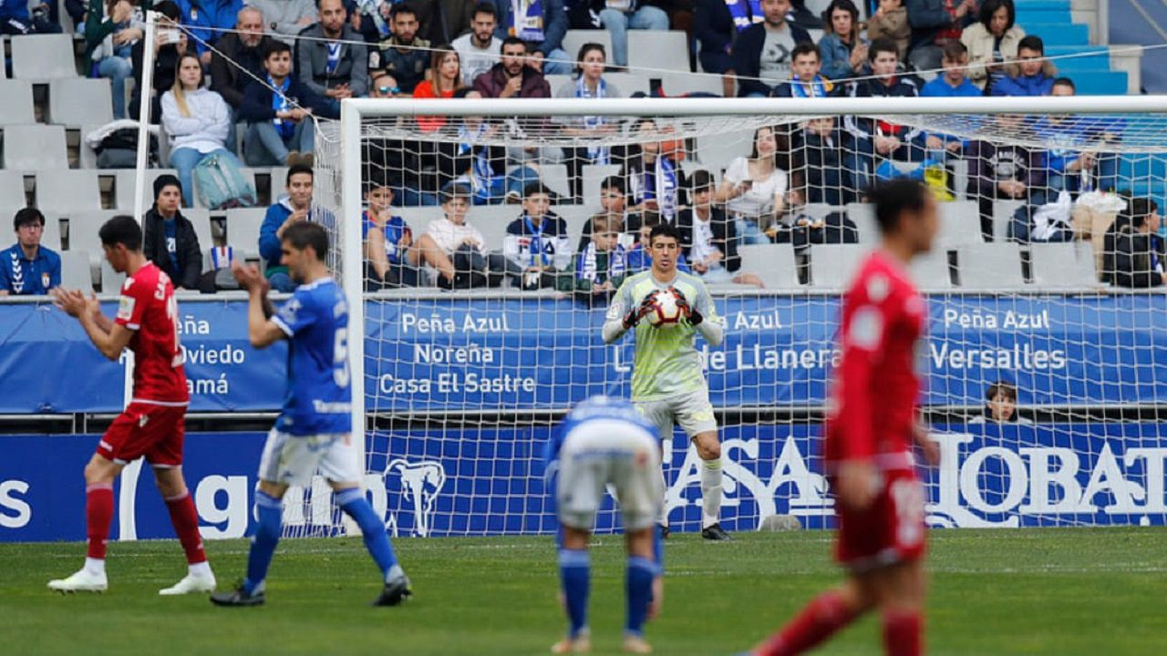 Champagne en el Real Oviedo-Deportivo
