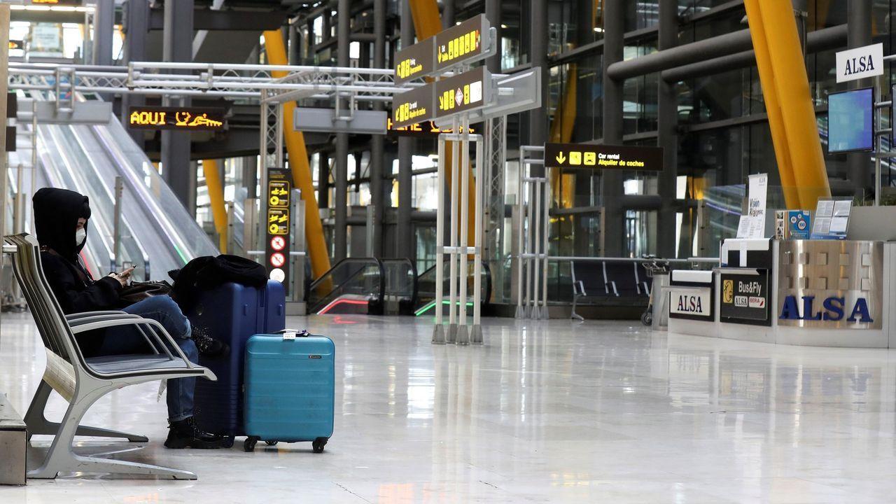 Imagen del aeropuerto de Barajas, el pasado día 1